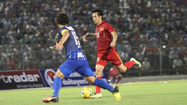Đội tuyển Việt Nam khởi đầu không thực sự tốt ở hiệp 2