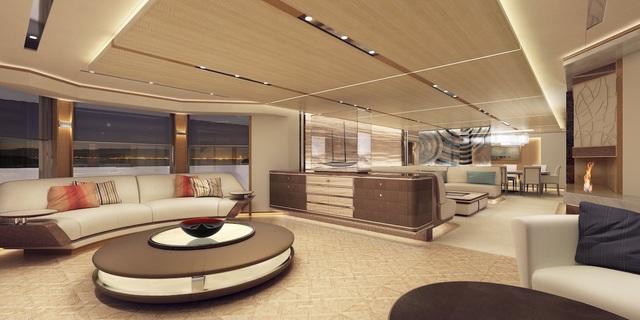 Tổng giá bán của chiếc siêu du thuyền này có thể lên tới 910 triệu USD.