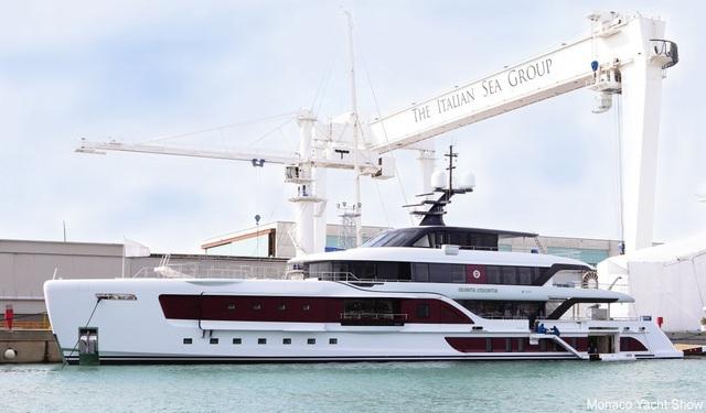 Monaco Yacht Show diễn ra từ ngày 28/9-1/10.