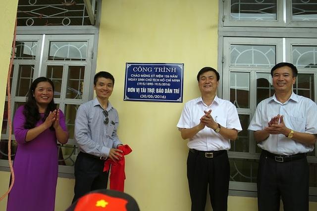 Tưng bừng ngày hội khánh thành công trình phòng học Dân trí thứ 7 tại Yên Bái - 17