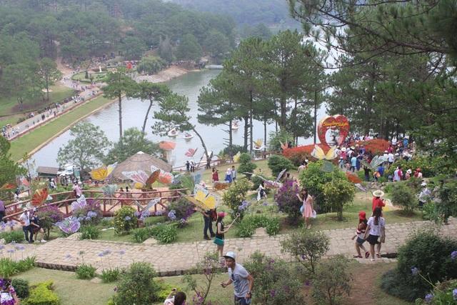 Khu du lịch Thung Lũng Tình Yêu- Đà Lạt bất ngờ tăng giá vé