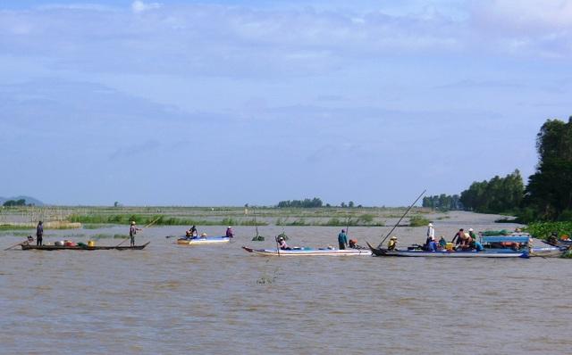 Để đến chợ đúng giờ, người dân câu, lưới phải thức từ 2 giờ sáng để đi thăm câu, lưới, dớn... sau đó mang cá về chợ cá kênh Giuộc
