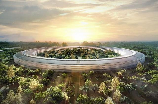 """Trụ sở mới """"ngốn"""" của Apple bao nhiêu tiền? - 1"""