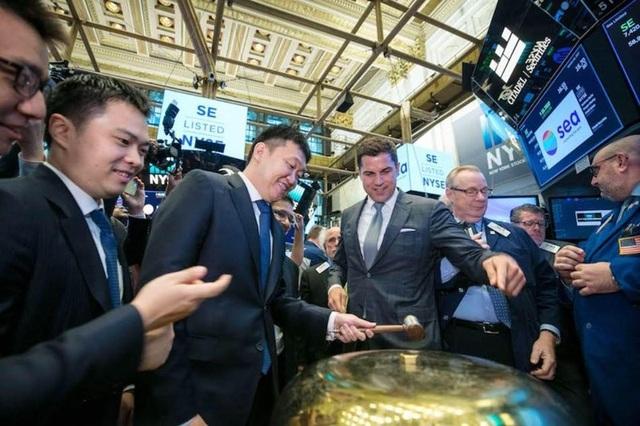 SEA trở thành công ty công nghệ internet đầu tiên trong khu vực Đông Nam Á mở rộng chào bán cổ phiếu trên sàn NYSE.