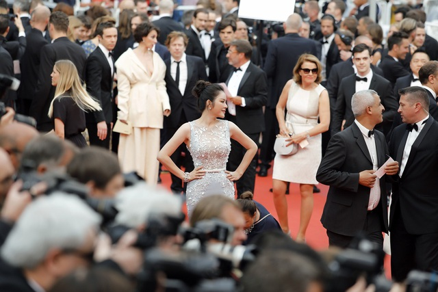 Lý Nhã Kỳ cũng thường xuyên dự LHP Cannes những năm gần đây