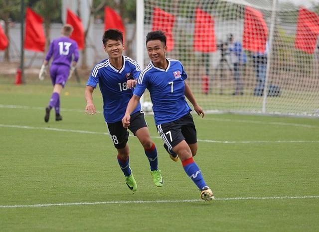 U15 PVF giành chiến thắng chung cuộc 4-2 trên chấm 11m, sau khi hòa 2-2 ở hiệp chính
