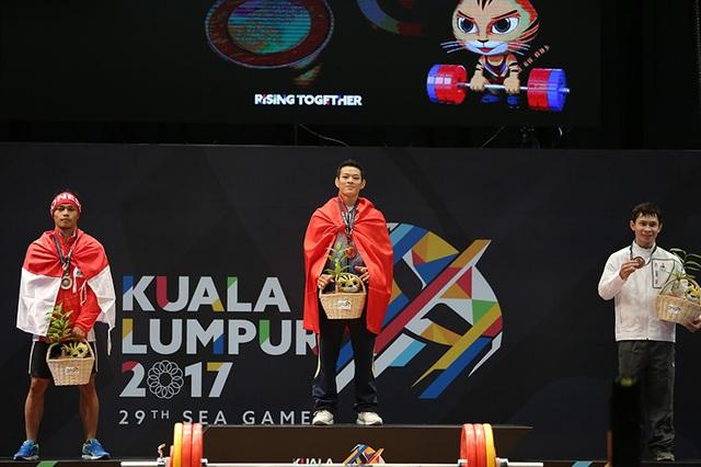 Niềm vui chiến thắng của Thạch Kim Tuấn