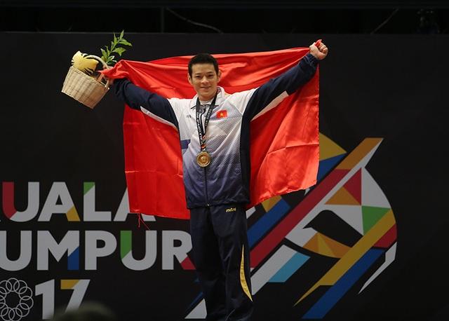 Kim Tuấn tiếc nuối vì không thể phá kỷ lục SEA Games 28 (tổng cử 285kg) chính anh tạo ra