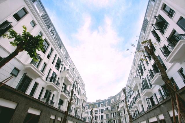 Dự án Nhà phố Thương mại Victoria thuộc tổ hợp khu đô thị Văn Phú