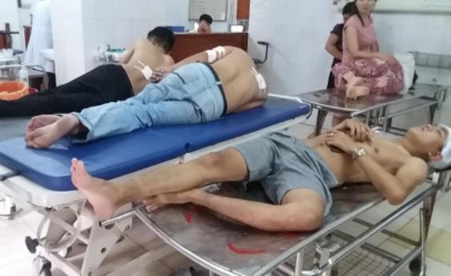 Các nạn nhân bị thương