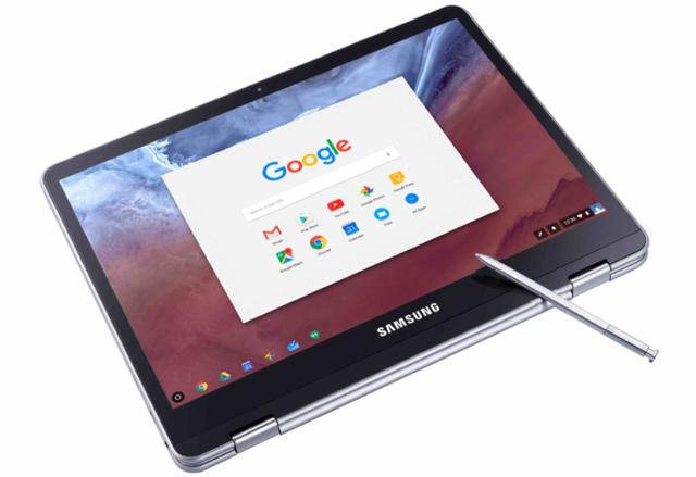 Samsung lần đầu tiên giới thiệu máy tính Chromebook với bút cảm ứng stylus - 1