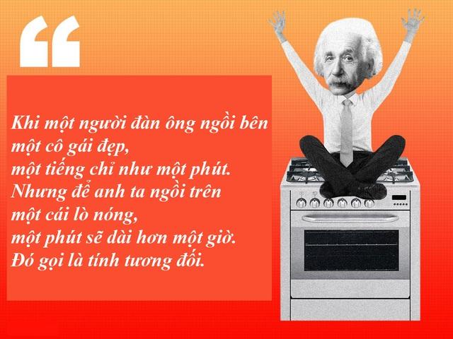 "20 câu nói ""bất hủ"" của thiên tài Albert Einstein - 1"