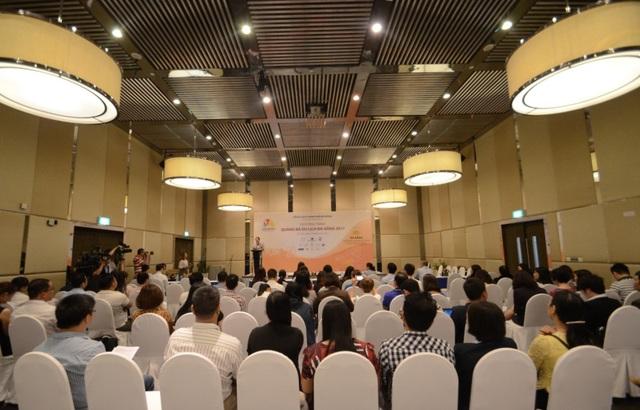 Không gian buổi xúc tiến du lịch Đà Nẵng.