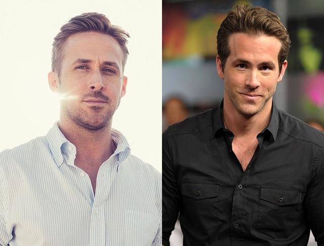 Gosling (36 tuổi) và Reynolds (40 tuổi) cùng quê hương Canada và cùng mang tên Ryan…