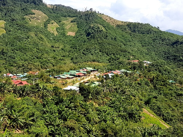 Toàn cảnh làng Pà Rum A