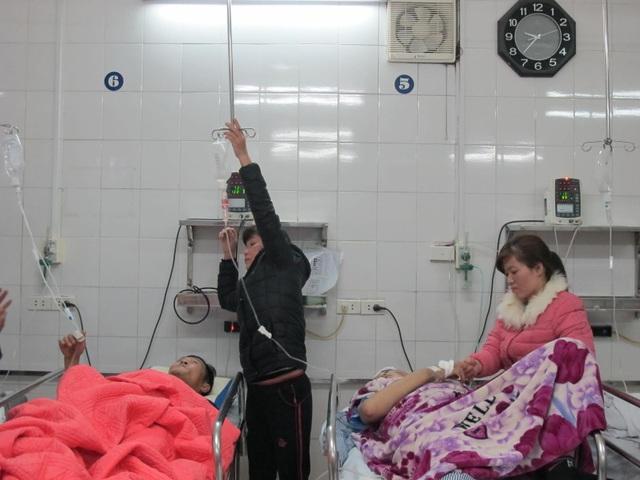 Bệnh nhân tai nạn giao thông điều trị tại BV Việt Đức.