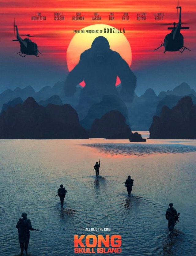 """Sao """"Kong: Skull Island"""" đồng loạt đăng ảnh về Việt Nam - 1"""