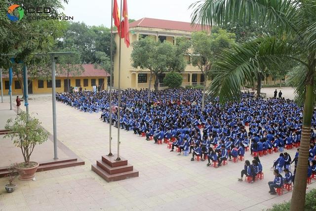 Doanh nhân Ngô Minh Tuấn chia sẻ hướng nghiệp cho gần 1.400 học sinh THPT Lý Nhân Tông – TP Bắc Ninh.