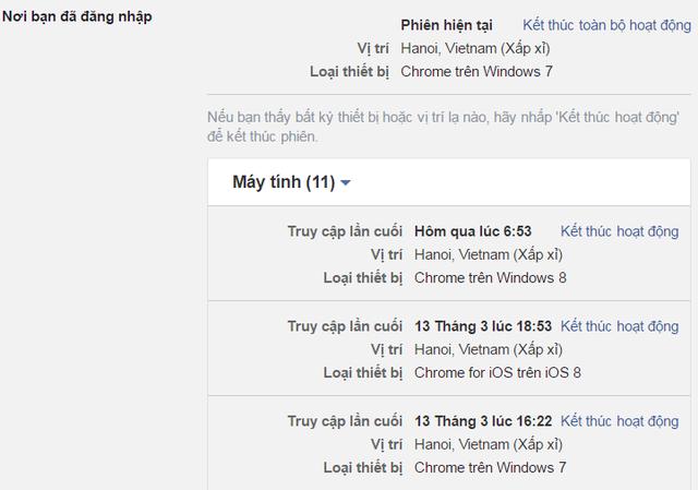 Những dấu hiệu cho thấy Facebook của bạn đang bị hack - 2