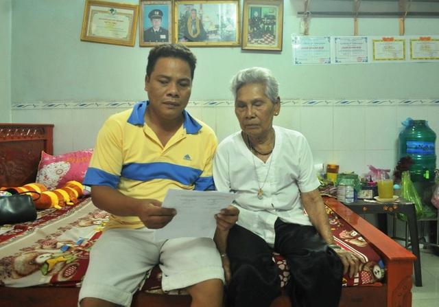 Từ khi bị chính quyền huyện An Biên lấy mảnh đất 5.400m2, bà Thị Sảnh đã đi khiếu nại cho đến khi tuổi già sức yếu, bà Thị Sảnh ủy quyền lại cho người con trai út Danh Leo tiếp tục đi khiếu nại