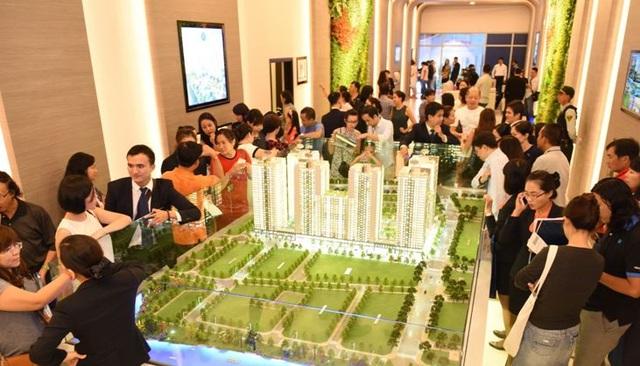 Các dự án căn hộ ngày càng thu hút được nhiều người quan tâm và chọn mua.