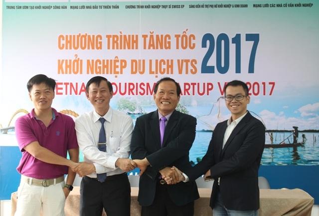 Lễ công bố chương trình Tăng tốc khởi nghiệp du lịch VTS 2017 tại Đà Nẵng vừa diễn ra trong ngày 14/4