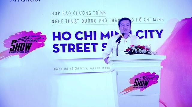 Ông Bùi Tá Hoàng Vũ, Giám đốc Sở Du lịch TPHCM kêu gọi các cá nhân, nhóm nhạc tham gia Ho Chi Minh Street Show.