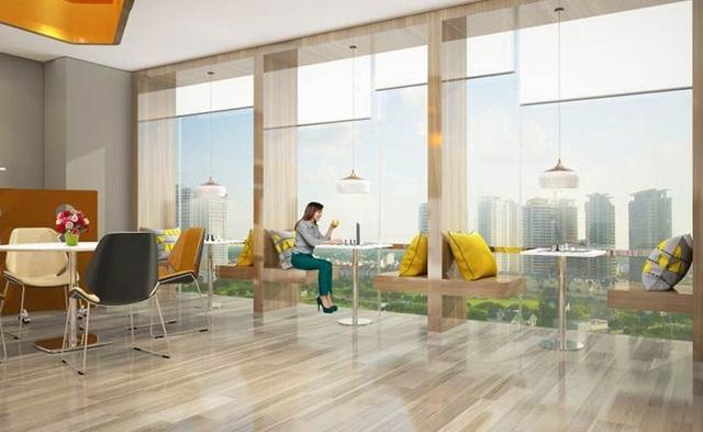 """Khi có những cuộc gặp mặt hay hội họp,… cư dân có thể đăng ký sử dụng phòng đa năng, phòng họp. Và nếu có khách đến thăm nhà, """"guest house"""" là một tiện ích đẳng cấp sang trọng như các khu nghỉ dưỡng dành cho khách mà không ảnh hưởng đến sinh hoạt gia đình."""
