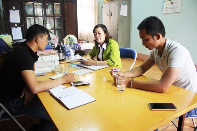 Bà Lưu Thị Lý trả lời phỏng vấn về những sai phạm của nhà trường và của bà Sui Huyn