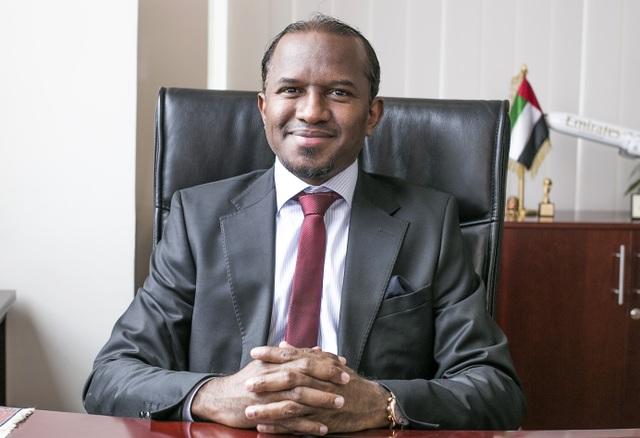 Ông Haitham Al Battawy, Tổng giám đốc Emirates Việt Nam
