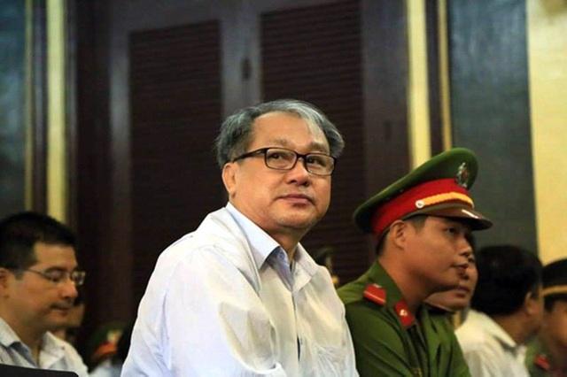 Bị cáo Phạm Công Danh tại phiên tòa phúc thẩm tháng 1/2017.