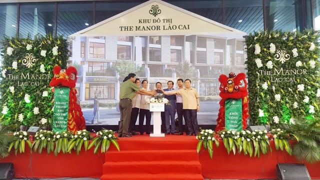 The Manor Lào Cai đã hoàn thiện giai đoạn một gồm 441 căn biệt thự, liền kề và nhà phố thương mại (Shophouse), khu công viên, quảng trường, đài phun nước và tòa nhà dịch vụ The Manor Palace