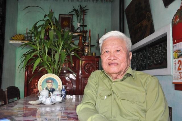 Cựu binh Lê Xuân Đây