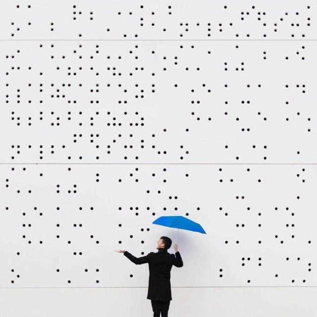 Phối cảnh độc đáo khiến công trình kiến trúc trở thành những hạt mưa Chiêm ngưỡng những tác phẩm chụp chân dung phối cảnh với họa tiết sẵn có
