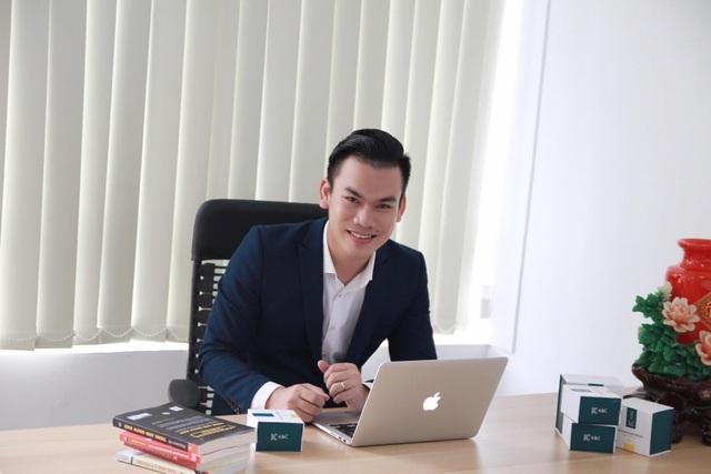 Anh Hoàng Ngọc Cường - Giám đốc điều hành của công ty Mỹ phẩm K&C Việt Nam