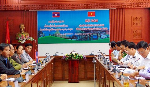 Tỉnh Quảng Nam và Sê Koong làm việc về vấn đề di cư tự do và hôn nhân không giá thú ngày 22/8