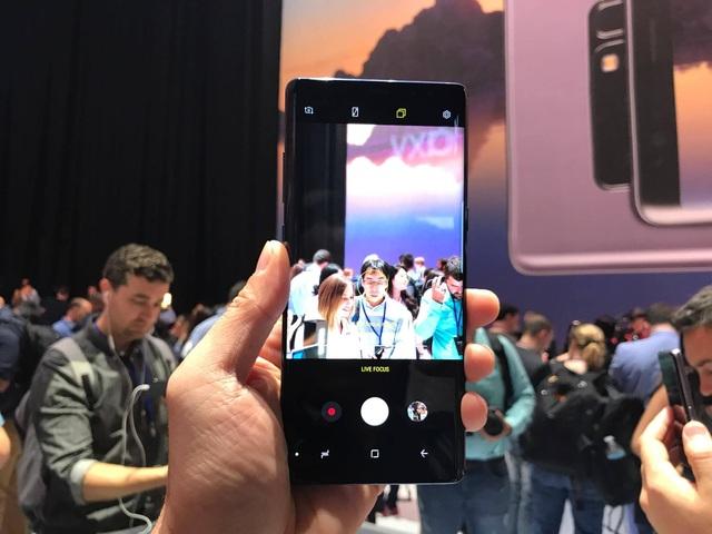 Tính năng Live Focus trên Galaxy Note8