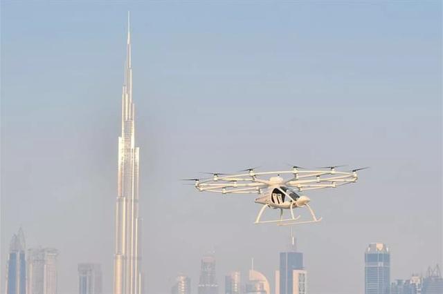 """Dubai đã bắt đầu thử nghiệm mô hình """"taxi bay"""" không người lái - 1"""