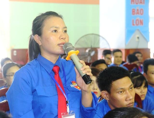 ĐVTN thẳng thắn trao đổi với Chủ tịch UBND tỉnh Bình Định Hồ Quốc Dũng