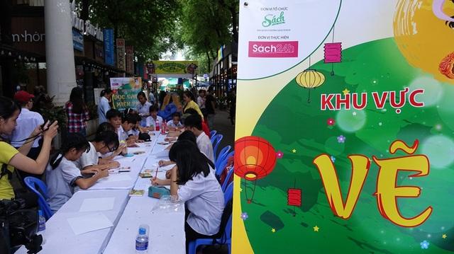 Trung thu mơ ước tại đường sách Nguyễn Văn Bình