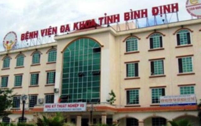 Bệnh viện đa khoa tỉnh Bình Định, nơi bác sỹ Toàn công tác