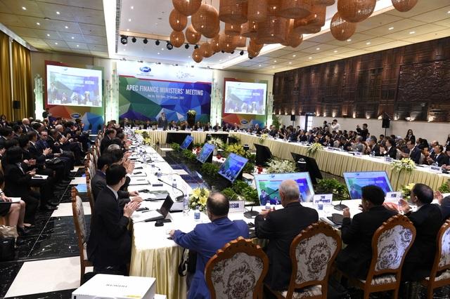 Toàn cảnh hội nghị Bộ trưởng Tài chính APEC 2017 sáng 21/10 tại Hội An