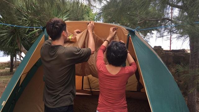 Tự dựng lều
