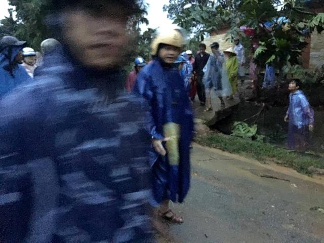 Hiện trường vụ sạt lở núi làm 1 học sinh lớp 11 tử vong ở huyện Bắc Trà My