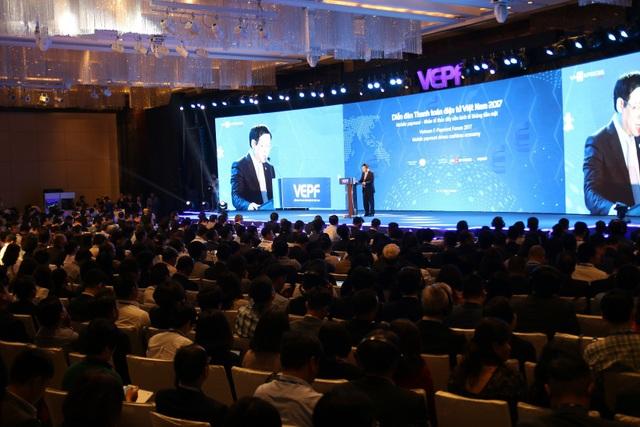 Với sự có mặt của tỷ phú Jack Ma, VEPF 2017 đã thu hút hàng trăm doanh nhân tham gia