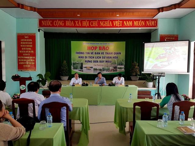 TP Hội An tổ chức họp báo công bố thông tin bán vé cho du khách tham quan rừng dừa Bảy Mẫu