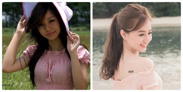 Hình ảnh trước và nay của Võ Quỳnh Vy