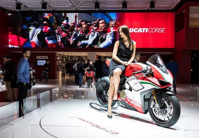 Ducati Panigale V4 ra mắt tại triển lãm EICMA 2017