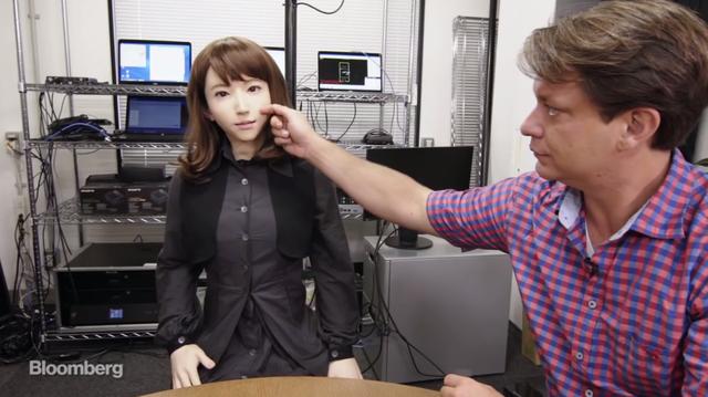 Erica được sản xuất bởi JST Erato - một trong những dự án khoa học được tài trợ vốn hàng đầu tại Nhật Bản.