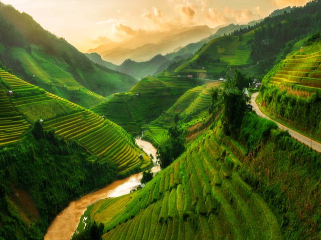Mù Cang Chải nằm trong danh sách những dãy núi đẹp nhất thế giới - 1